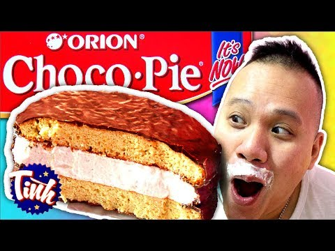 Giant Choco Pie! 10 Pounds Giant Chocolate Cake! [CC Available]