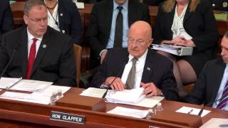House Intelligence Committee Open Hearing on Intelligence Community support for the DOD