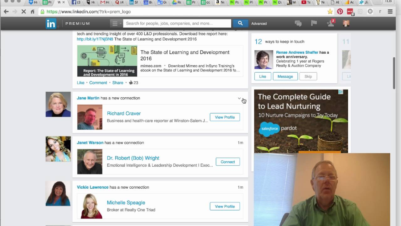 Viewing Recent Activity On Linkedin How To Delete Browsing History