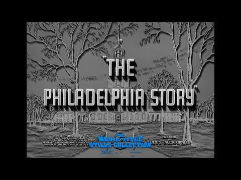 The Philadelphia Story (1940) Title Sequence