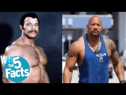 """Top 5 Facts About Dwayne """"The Rock"""" Johnson"""