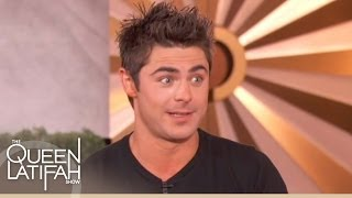 Zac Efron on Speaking to Michael Jackson... They Both Cried on The Queen Latifah Show