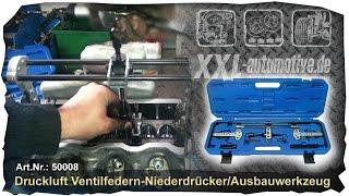 Druckluft Ventilfederspanner, Ventilfedern spannen +++ How to
