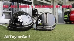 PXG 0811 DRIVER v TAYLORMADE M1 DRIVER