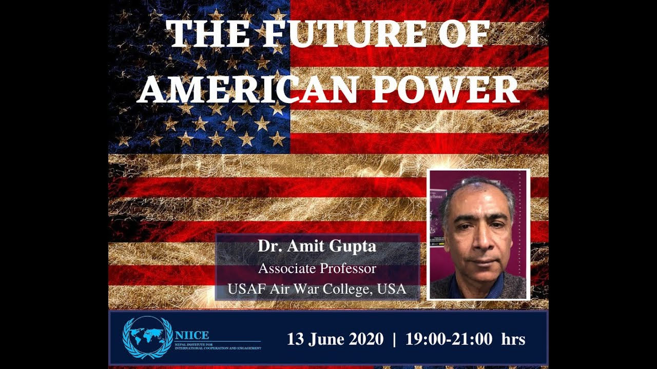 #NIICEEvents | The Future of American Power