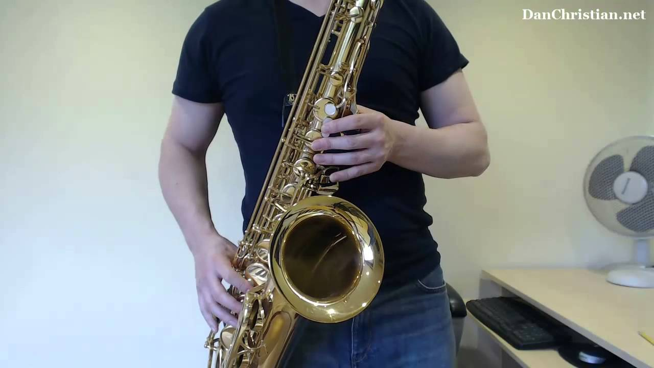How to play Tequila by The Champs on Tenor Saxophone (Saxophone Lesson  SR105t)
