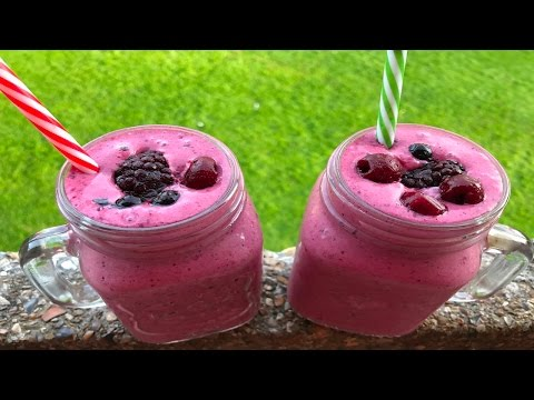 Frozen Mixed Berry Smoothie Recipe