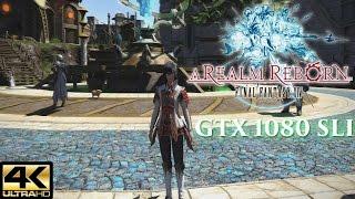 [Legendary Games Test] Final Fantasy XIV Heavensward (PC 4K) - Performance test gtx 1080 SLI