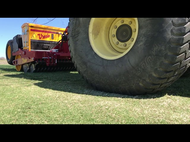 Vredo SuperCompact seeder by Sustainable Machinery