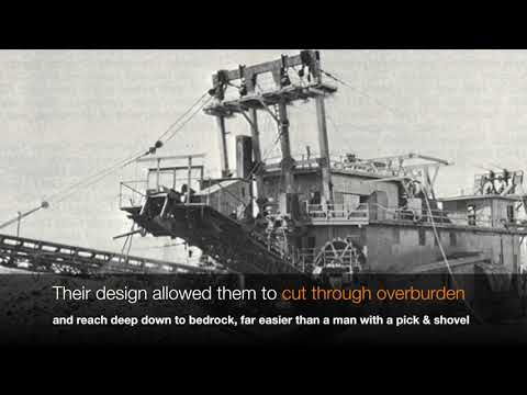 Bucket Line Dredges - Monster Machines of the Goldfields