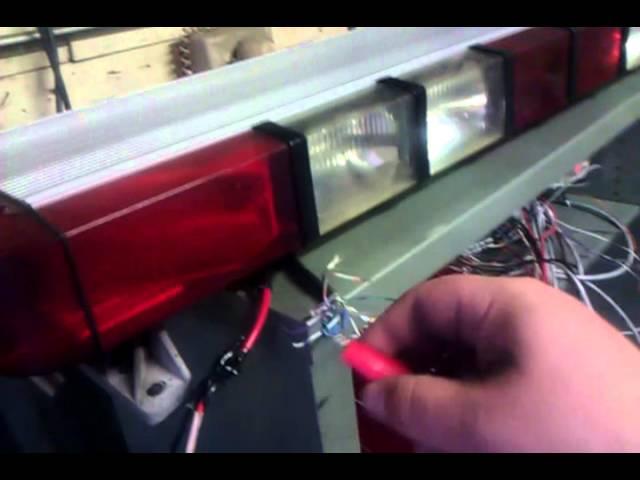whelen ultra edge 9000 light bar  youtube