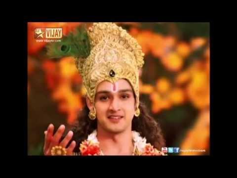 SriKrishnar Upadesam 1 In Vijay TV Mahabharatham