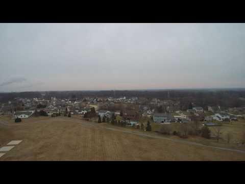 Drone View of Carollton Elementary School - Oak Creek