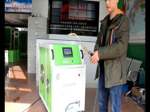 Okay Energy OH2000 h2o oxyhydrogen generator- hho machine demo