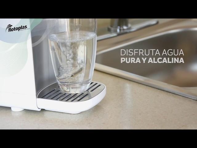 Instalación Purificador y Alcalinizador de Agua sobre Tarja