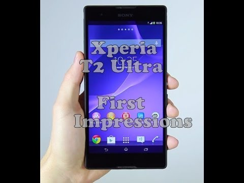SONY Xperia T2 Ultra Review| Face to Face SoldiersTech