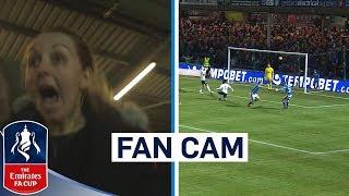 Fans React To Dramatic Finale! | Rochdale vs Spurs | Fan Cam | Emirates FA Cup 2017/18