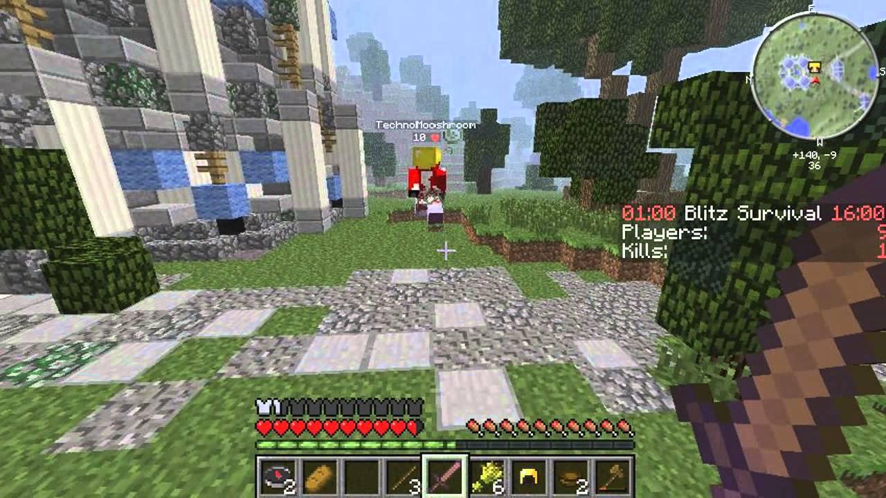 Hunger games minecraft 1.5.2 сервера