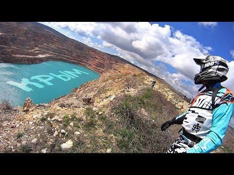 Куда поехать на мотоцикле эндуро? Конечно в Крым! Мотопутешествие