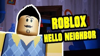 Hello Neighbor Return to the Past | ROBLOX HELLO NEIGHBOR