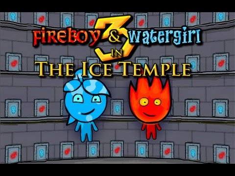 Fireboy and Watergirl 3: The Ice Temple Full Gameplay Walkthrough