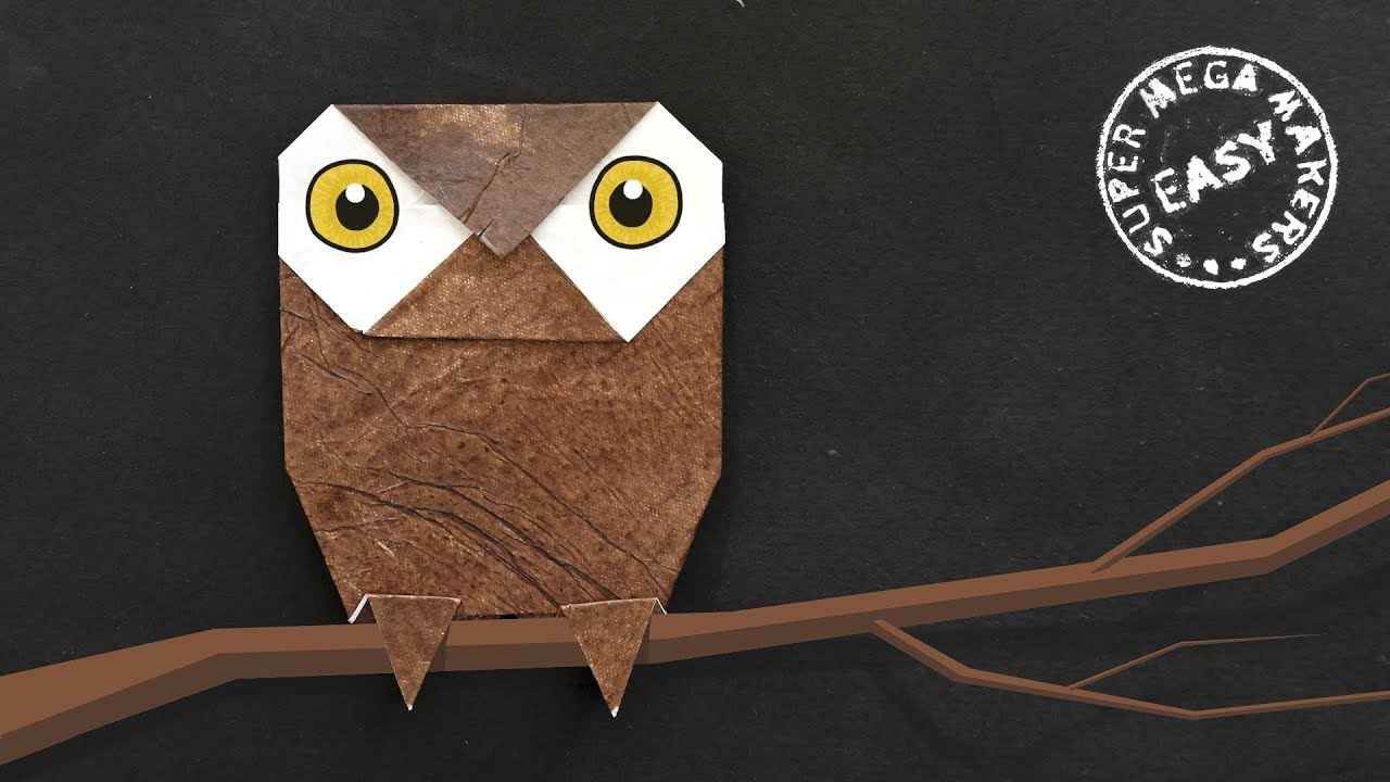 3D Modular Origami Owl - YouTube | 720x1280