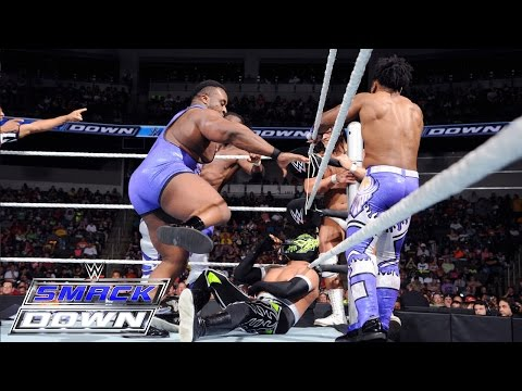 The Prime Time Players & Lucha Dragons vs. The New Day & Bo Dallas: SmackDown, June 25, 2015