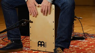 MEINL Percussion PSC100B Snarecraft Pickup Cajon