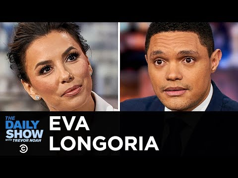 """eva-longoria---""""dora-and-the-lost-city-of-gold""""-&-breaking-on-screen-boundaries- -the-daily-show"""