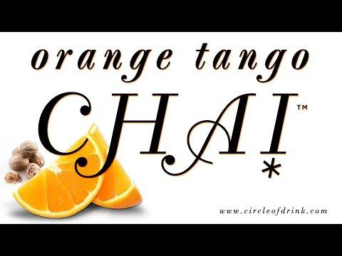 Zesty Delight: Orange Tango Chai Yerba Mate — (Organic)