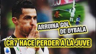 Cristiano Ronaldo Hace PERDER a la Juve / CR7 arruina gol de Dybala (Juventus 2-2 Sassuolo)