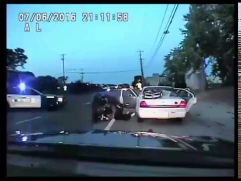 Philando Castile DEATH Police Dashcam Shooting Video Officer Yanez (WARNING: GRAPHIC CONTENT)