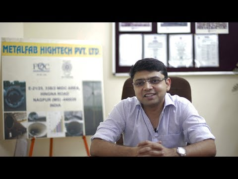 Sahil Jain | Metalfab Hightech Pvt. Ltd. #SMEInspirations