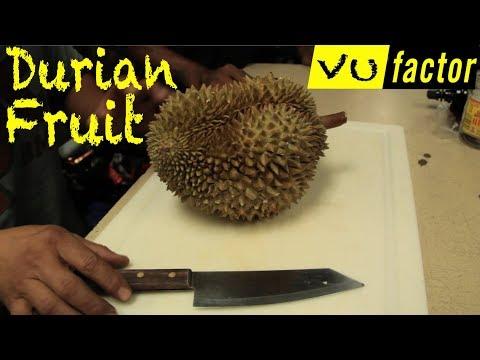 DURIAN FRUIT CHALLENGE! Vu Factor