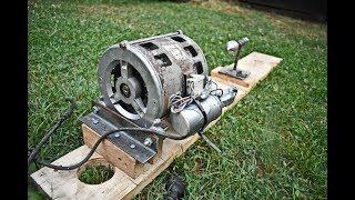 2 GENIUS DIY IDEAS MADE FROM WASHING MACHINE MOTOR