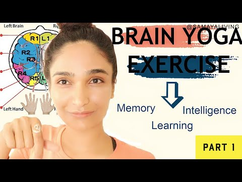 Brain yoga exercise | Fingers Brain connection | Intelligence Memory Learning