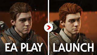 Fallen Order Graphics Comparison EA Play vs Launch