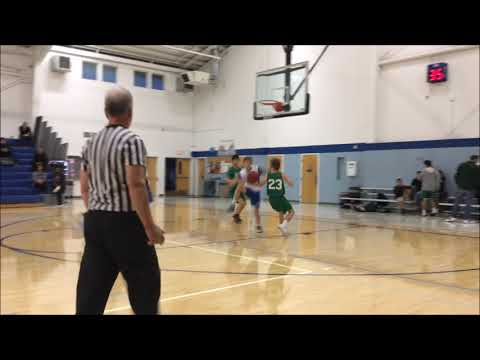Dietrich and Eagles against Alto Middle School 11 2017