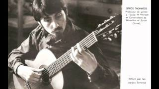 Carl Maria von Weber - Divertimento für Gitarre und Klavier, Op. 38. Spiro Thomatos, Gitarre (3).