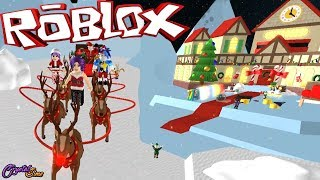 AYUDO A SANTA CLAUS | SAVE CHRISTMAS OBBY ROBLOX | CRYSTALSIMS