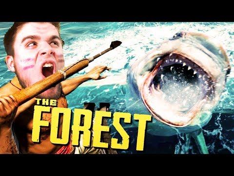 POLOWANIE NA REKINA! | The Forest [#22] (With: Dobrodziej)