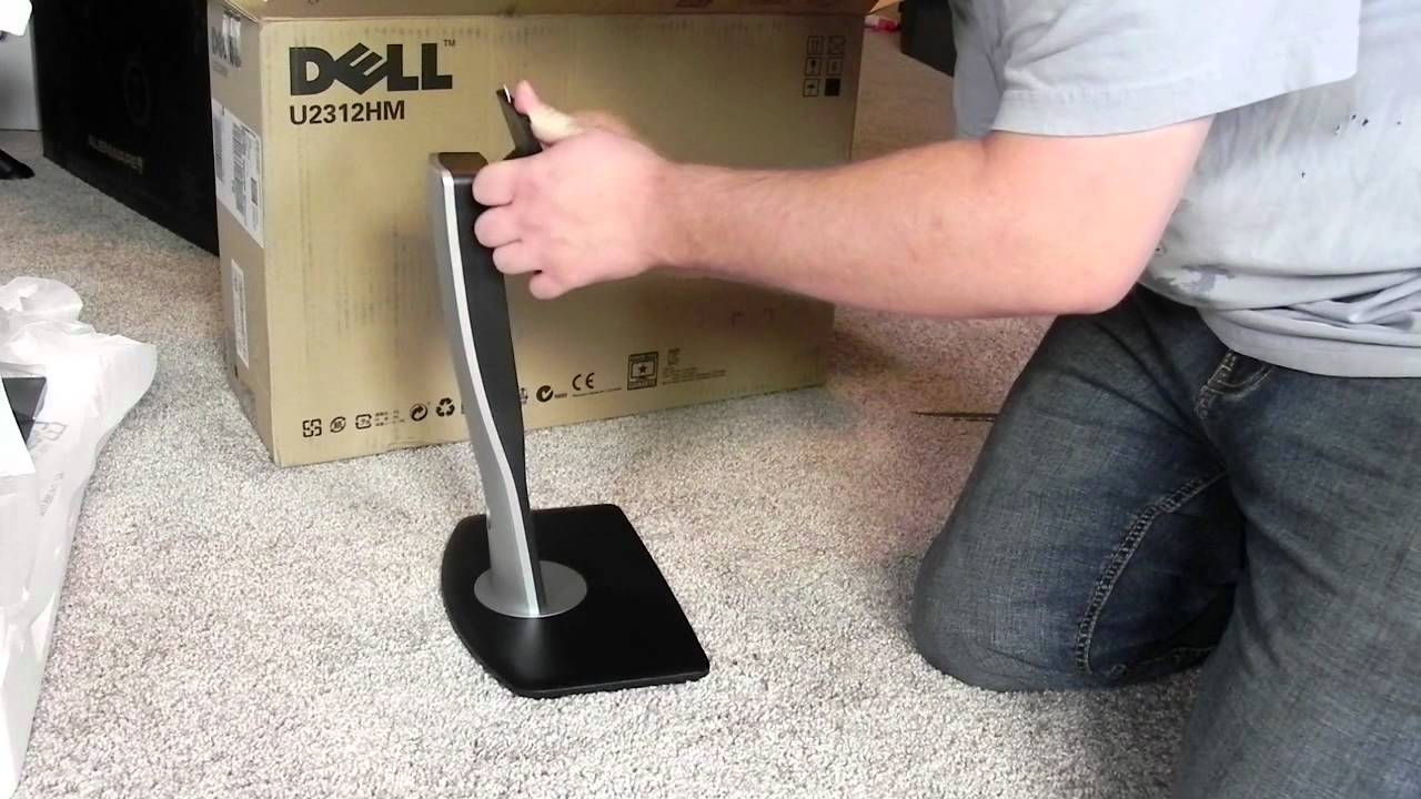 Alienware Aurora R4 - z506 Surround Sound - Dell u2312hm UltraSharp  (UnBoxing)