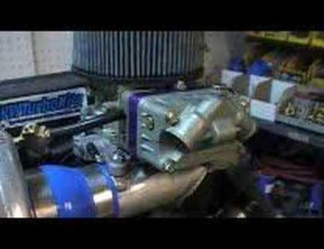 VW turbo kit bug