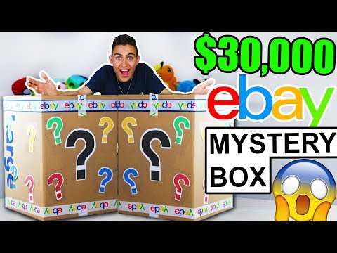 I Bought A 30 000 Mystery Box From Ebay Youtube