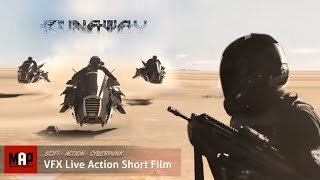 Sci-FI CGI Action Short Film ** RUNAWAY ** Amazing VFX Cyberpunk Thriller by ArtFx Team