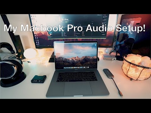 My MacBook Pro Audio Setup!