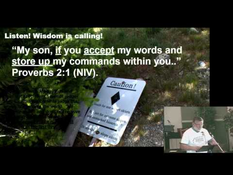 Proverbs 2:1-11 Wisdom is Calling