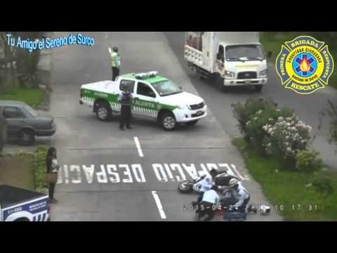 Brigada De Rescate Del Serenazgo De Surco En Acción.