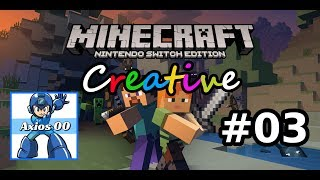 Minecraft Creative: Nintendo Switch Edition (Switch): Ep #3 - Baffo - Gameplay Ita