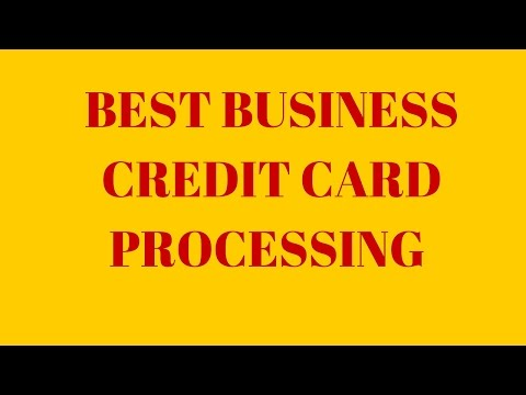 Best Business Credit Card Processing